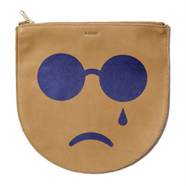 BAGGU - POUCH M PAINTED FACE
