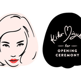 OPENING CEREMONY - Kiko Mizuhara for OPENING CEREMONY