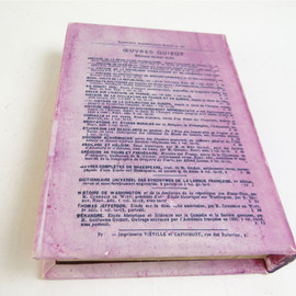 PUEBCO - canvas empty book (Purple)