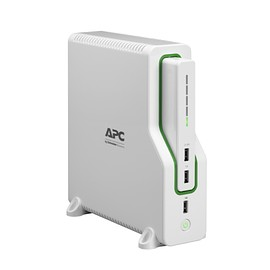 APC - Schneider Electric,Back-UPS Connect 50 Lithium Ion Network UPS, Mobile Power Bank 120V Front Left