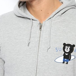 BEAMS - The Wonderful! design works. / SURF BEAR FULL ZIP