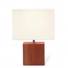 キシマ - SQUARE TABLE LIGHT/Brown