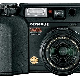 Olympus - Olympus Camedia C-4040 4MP Digital Camera w/ 3x Optical Zoom