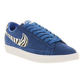 Nike, Office (UK) - Blazer Low Vintage - Royal Blue/Zebra