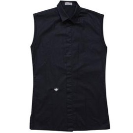 DIOR HOMME - NO SLEEVE SHIRT