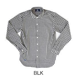 s&nd - new nel gingham SH BLK