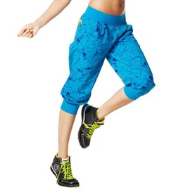 Zumba Fitness - ZUMBA(ズンバ) Way With Words Cargo Capri (ブルー)