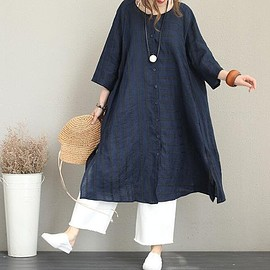 Dress summer Floral dress linen dress Women's Dresses