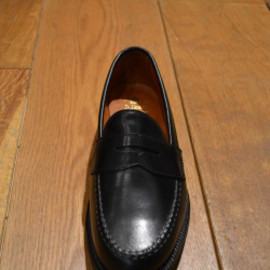 ALDEN - CALF LOAFER(BLACK)