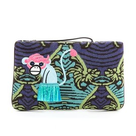 M Missoni - Monkey Clutch
