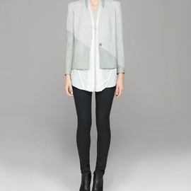 HELMUT LANG - WARPED SUITING BLAZER