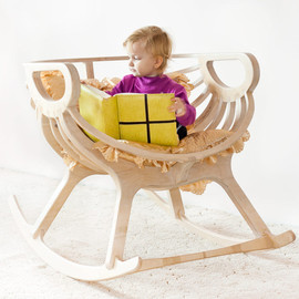 TreeSky - Wooden Rocking chair
