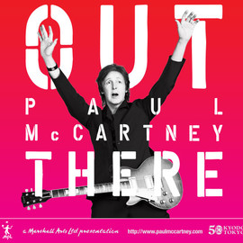 Paul McCartney - OUT PAUL McCARTNEY THERE
