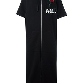 Au Jour Le Jour - zipped sweatshirt dress