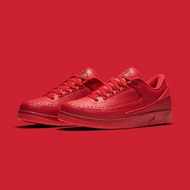 NIKE - NIKE AIR JORDAN 2 RETRO LOW GYM RED/UNIVERSITY RED-HYPER TURQUOISE