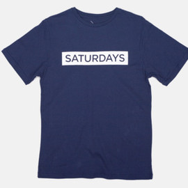 Saturdays - Bar T-Shirt