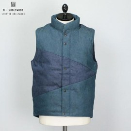 N.HOOLYWOOD - DENIM DOWN VEST