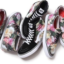 VANS, Supreme - Rose Pack For SpringSummer 2013