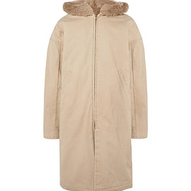Fear of God - Faux Fur-Lined Cotton-Canvas Hooded Parka