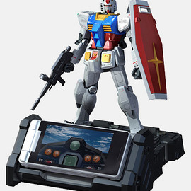 SHARP SoftBank - RX-78-2 ガンダム 945SH G Ver.GP30th