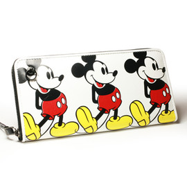 JAM HOME MADE - MICKEY FULL COLOR ZIP LONG WALLET