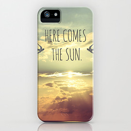 Society6 - 画像1: <即納品>Here Comes The Sun by Sabine Doberer (iPhone5/5s用ケース)