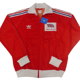 adidas originals - adidas originals GREAT BRITAIN TRACK TOP