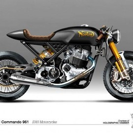 Norton - Holographic Hammer #Norton Commando 961 // S383 Motorcycles // Absolutely stunning bike