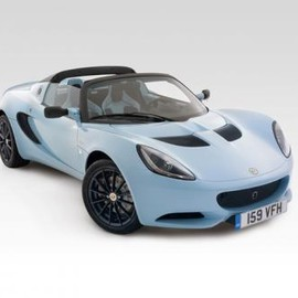 LOTUS - Elise CR Fr3Qtr Studio Light blue