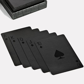 Alexander Wang - Black Playing Cards