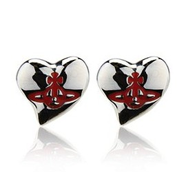 Vivienne Westwood - Orb Heart Earrings