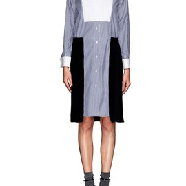 sacai - LASER CUT SHIRT DRESS
