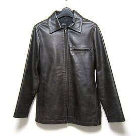 A.P.C. - LEATHER BLOUSON