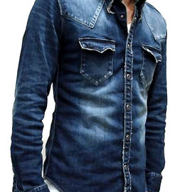 jun hashimoto - WESTERN DENIM SHIRTS