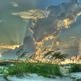 Florida - Sunset at Anastasia State Park in St. Augustine