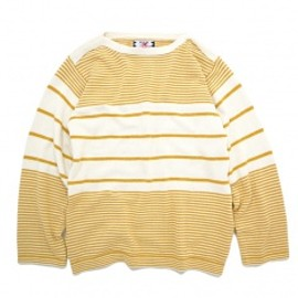 SON OF THE CHEESE - Boarder knit Mustard