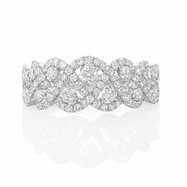 Firenze Jewels - Diamond 18k White Gold Ring