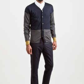 MARNI - Wool Cardigan Dark Anthracite