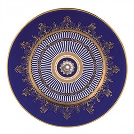 WEDGWOOD - Anthemion Blue Salad Plate