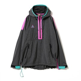 Nike ACG - Hooded Jacket - Anthracite/Pink Blast/Teal?