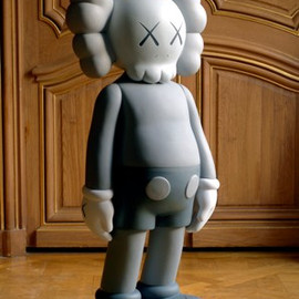 Kaws - Four Feet Grey Companion, 2007
