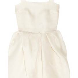 LANVIN - bubble-skirt silk-gazar dress