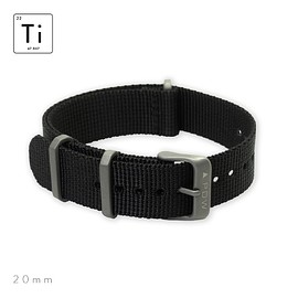 Prometheus Design Werx - Ti-NATO Strap 20mm - Black