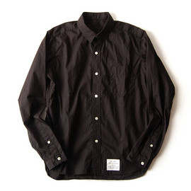 commono reproducts, NOLLY&THE NATURES - Workers Shirt (Black) NOLLY&THE NATURES別注