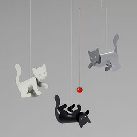 FLENSTED MOBILES - FLENSTED MOBILES (フレンステッド モビール) / <!-- 陸の生き物 --> Kitty Cats