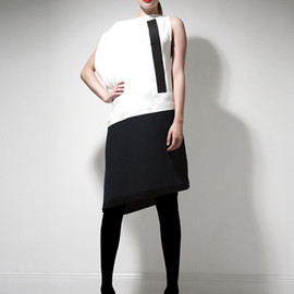 JEAN PAUL KNOTT - Monotone Dress -2013 s/s-