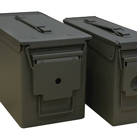 Heritage Security Products - Mil-Spec Ammo Can 2-Can Combo Pack 50 and 30 Caliber