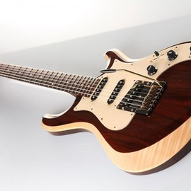 "Knaggs Guitars - Chesapeake ""Severn"" (Tier 2) in Chocolate/Cream"