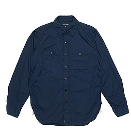 ENGINEERED GARMENTS - Work Shirt-French Twill-Navy