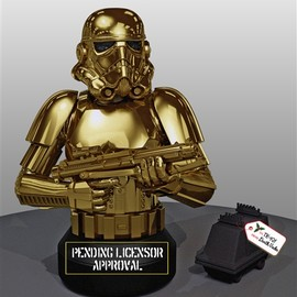 Gentle Giant - STORMTROOPER 10 Year Commemorative Holiday Bust